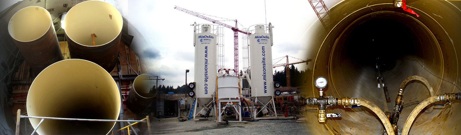 Geofill Cellular Concrete - Load Reducing Fill